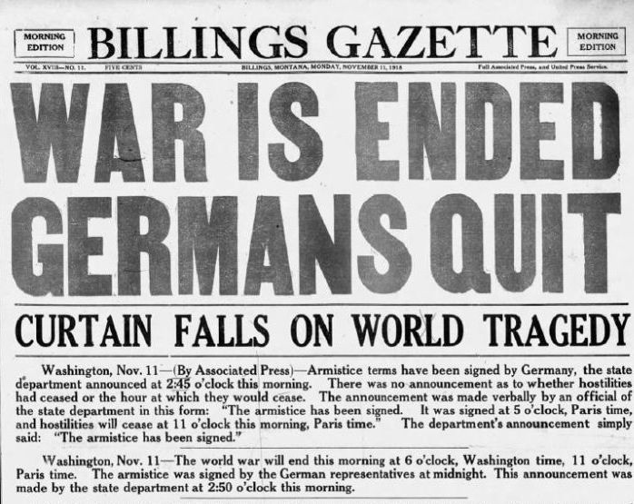 Gazette opinion: 100 years of war and armistice | Editorial