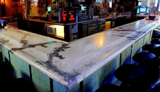 Jay Pilcheru0027s Concrete Countertop In Andyu0027s Bar. | Home And Garden |  Billingsgazette.com