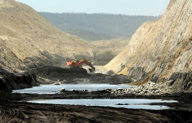 Coal-mining town