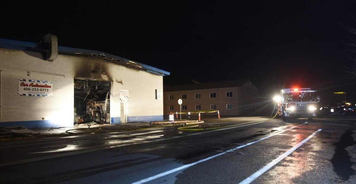 Cor fire scene