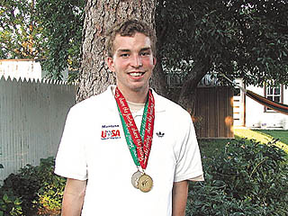 Special Olympian from Richey wins gold in 1,500m, silver in 800m