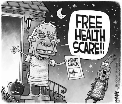 Sanders health scare