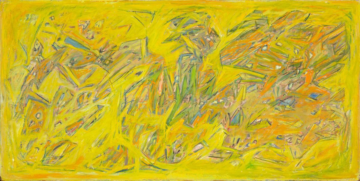 """Bill Stockton's """"Start of Autumn,"""" 1954"""