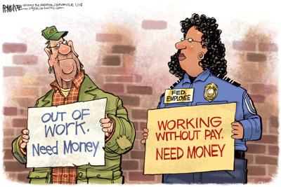Unpaid workers need money