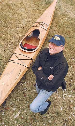 Kayak Construction Building A Wooden Paddle Boat Prompts Biblical Comparisons