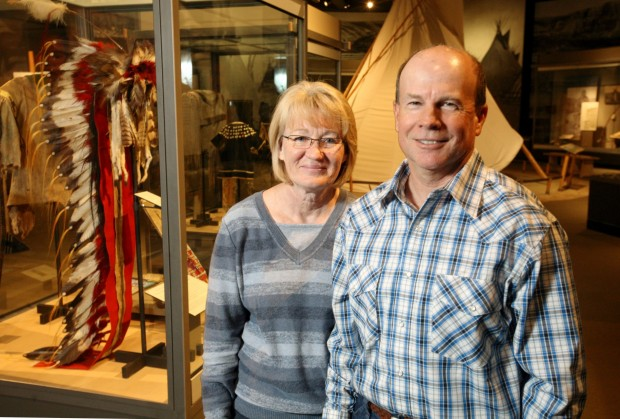 John Dyck and his wife, Cindy