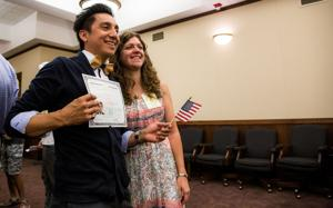 'Being a citizen feels more purposeful': 30 become American citizens