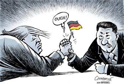 German economy squeezed by U.S.-China trade war