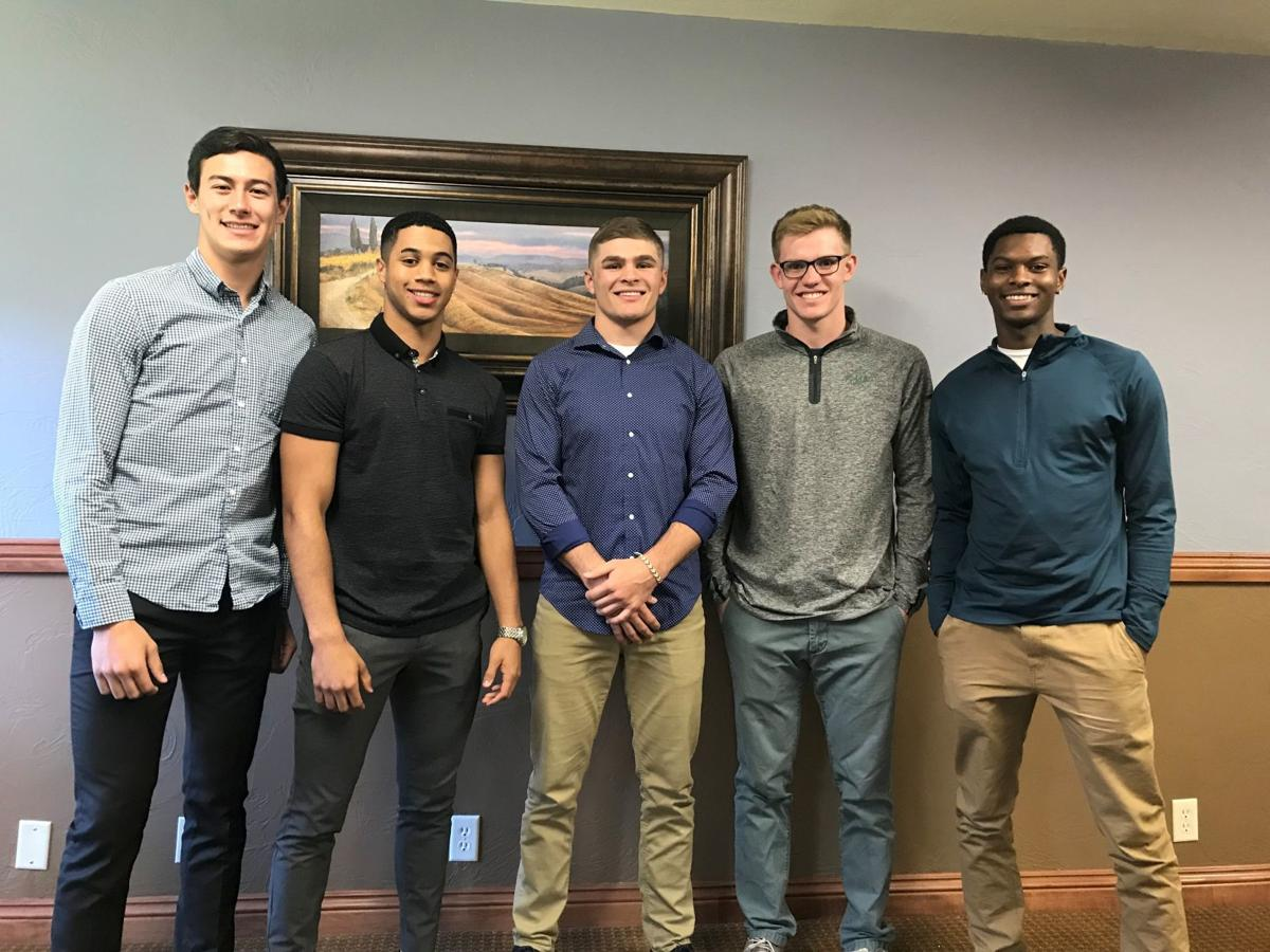 2019 Boys Midland Roundtable Athlete of the Year finalists