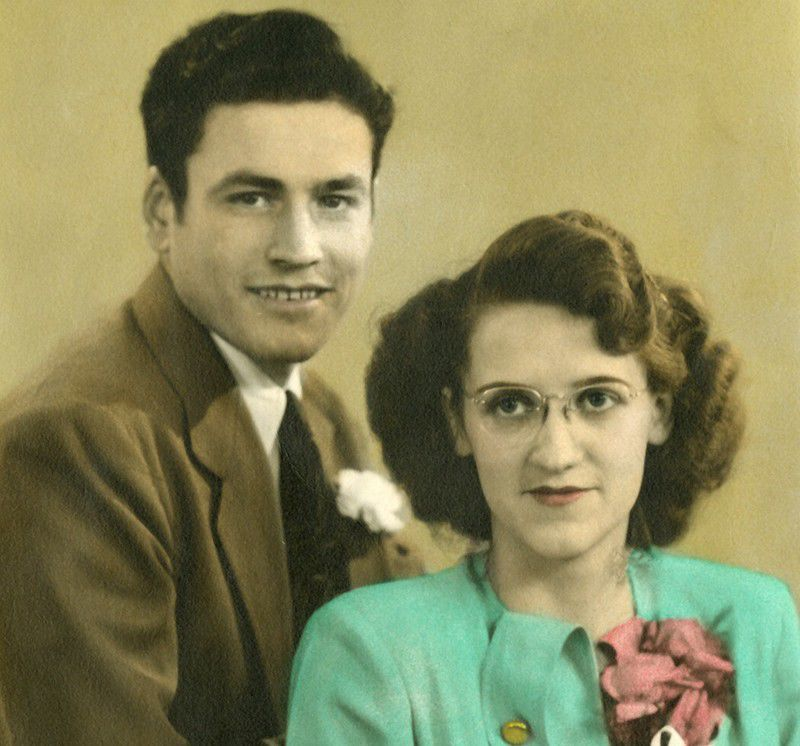 Michael and Sylvia Hoffman in 1947