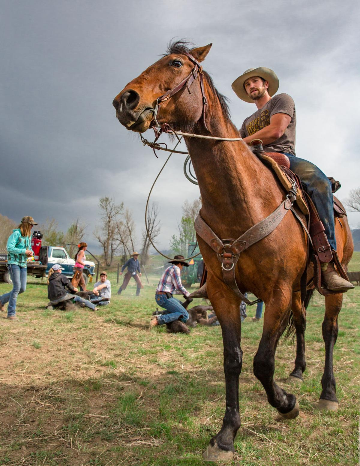 Montana blaine county hays - Photos Montana Cowboys And Cowgirls Montana News Billingsgazette Com
