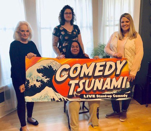 Comedy Tsunami presents Ladies of Laughter