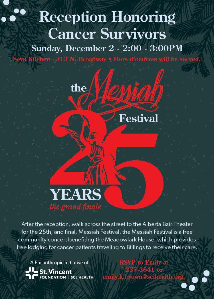 1405909e9486 Billings  annual Messiah festival to conclude with 25th performance ...