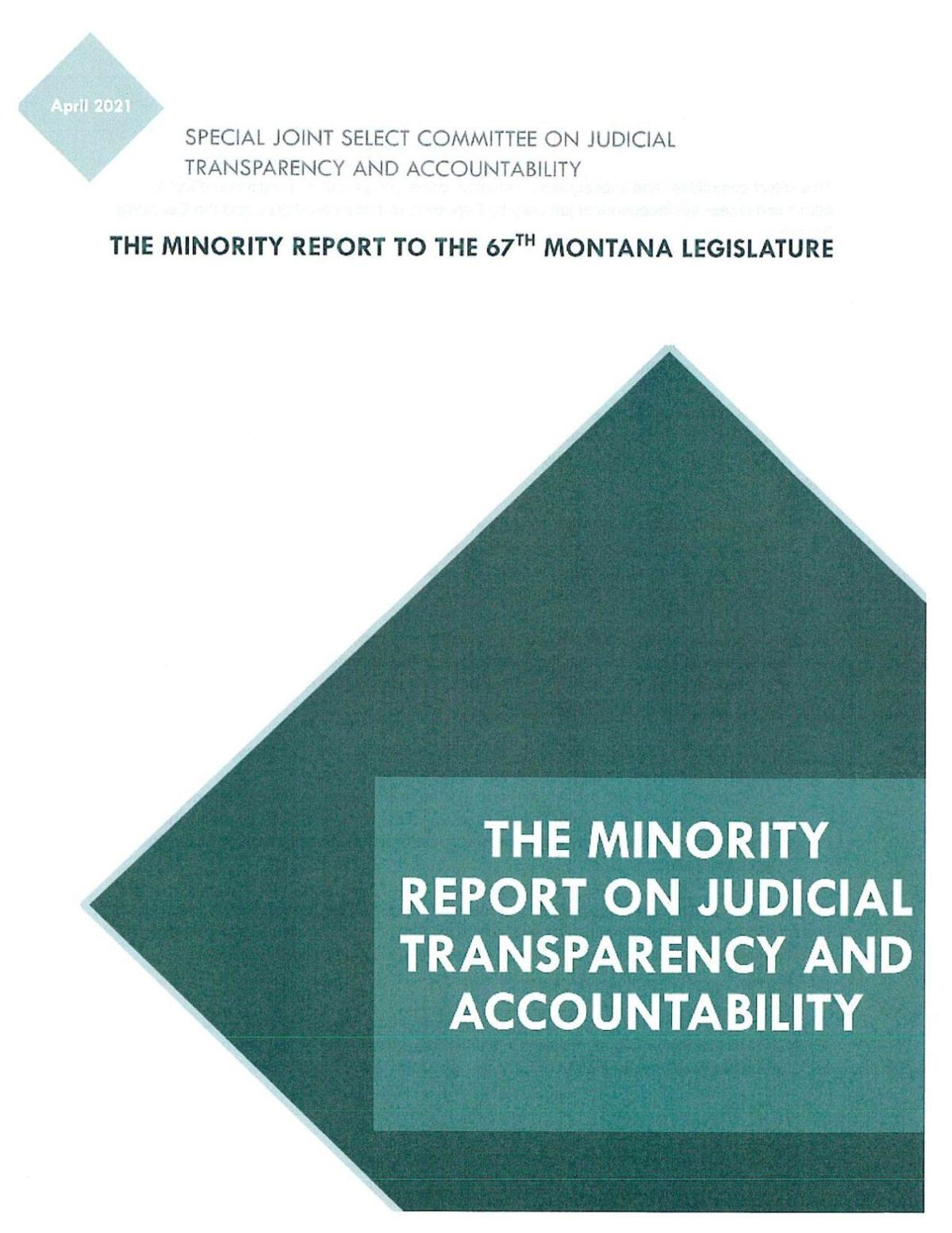 Judicial committee minority report