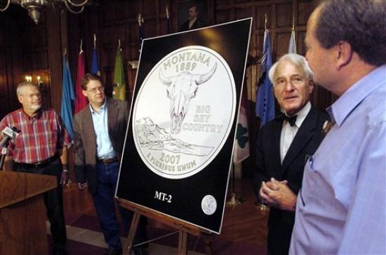 Bison skull selected for state quarter