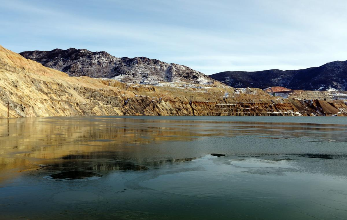 Water in the Berkeley Pit in Butte