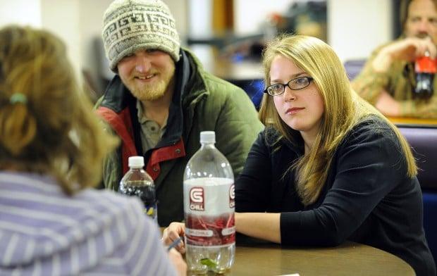Sara Stout, an AmeriCorps VISTA worker at The Hub