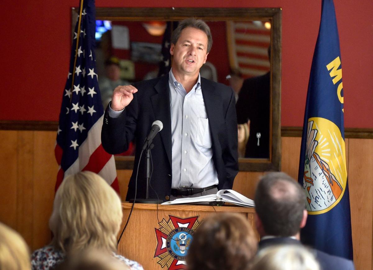 Gov. Bullock speaks at VFW Post 6774