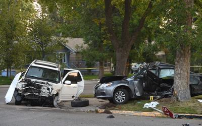 Lewis Avneue crash investigation