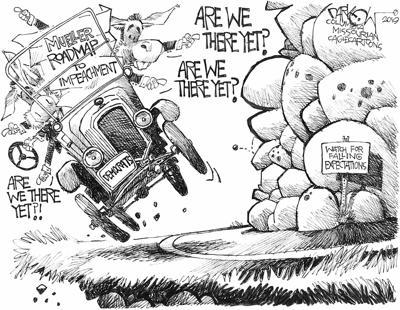 E J  Dionne Jr : Give Trump an ultimatum on stonewalling