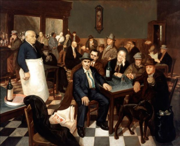 """The Italian Bar,"" by Harry Jackson"