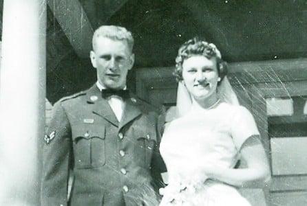 John and Audrey Kemkes in 1959