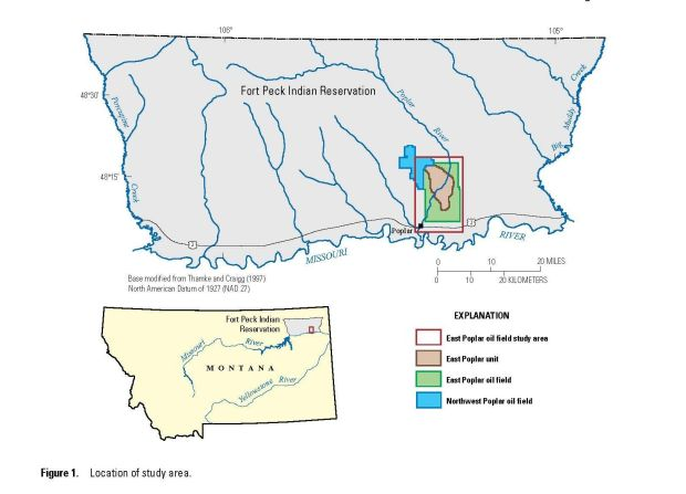 Study maps large, salty groundwater plume | Montana News ...