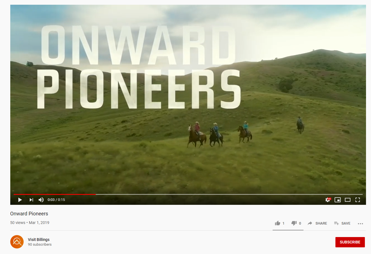 'Onward Pioneers'