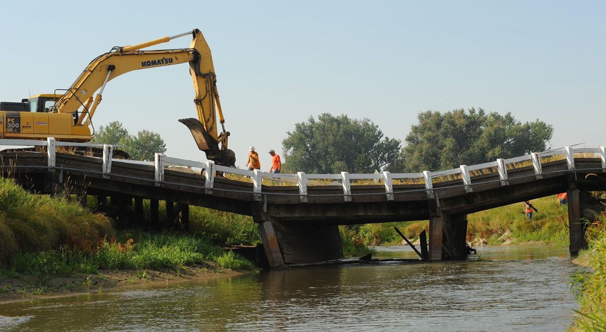 Water under troubled bridge