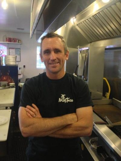 Mas Tacos owner/chef Mike Muirhead