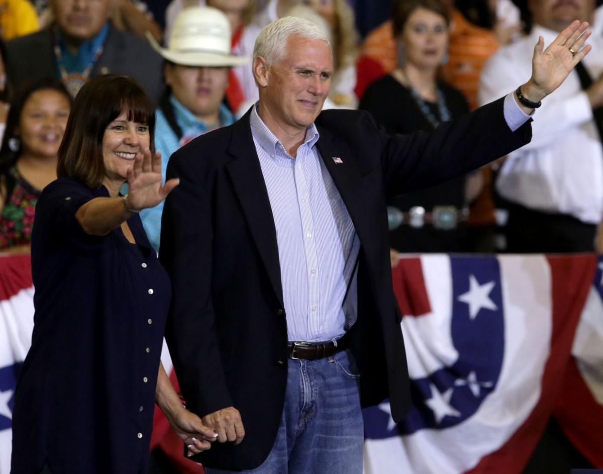 Mike Pence and wife Karen