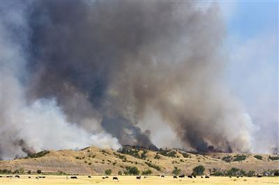 As Eastern Montana burns, tinderbox conditions creep west (copy)