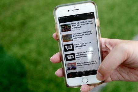 Download the 406 Sports app today - Please turn images on