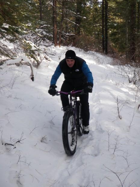 Rick Buchanan rides