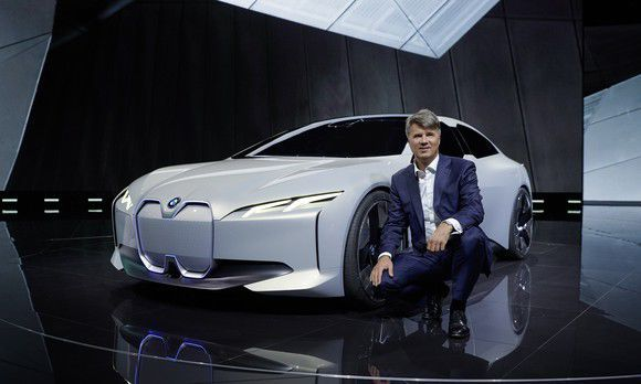 BMW's Sleek Electric Sedan Will Challenge Tesla -- in 2021
