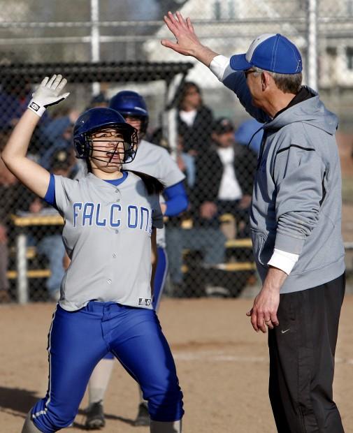 Skyview's Julia Gutierrez gets a high-five