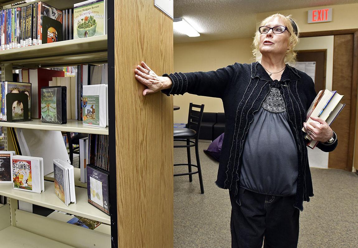 Lincoln librarian Sherri Wood
