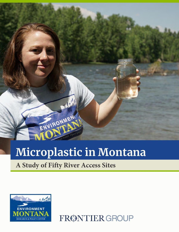 Microplastics in Montana report