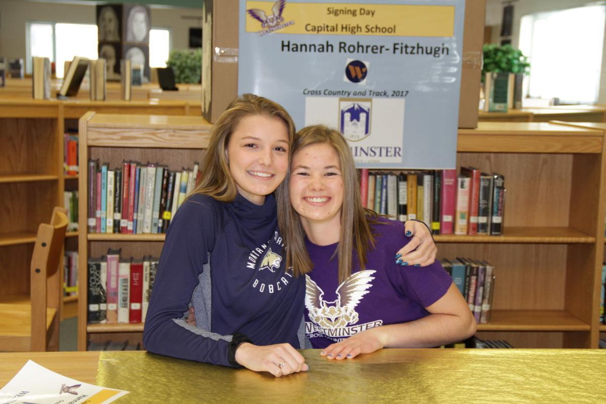 Carter, Rohrer-Fitzhugh sign for college