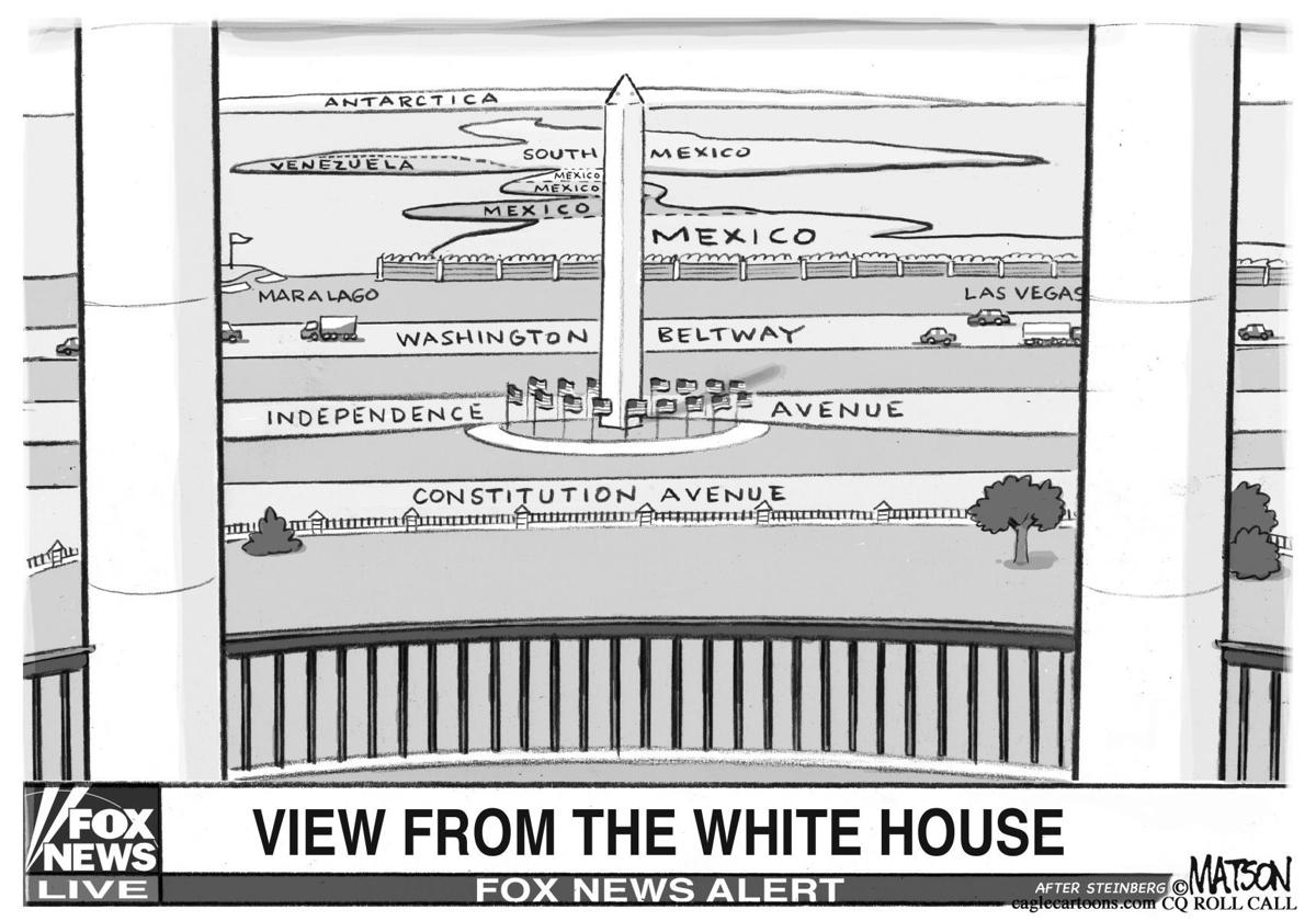 White House view of Mexico