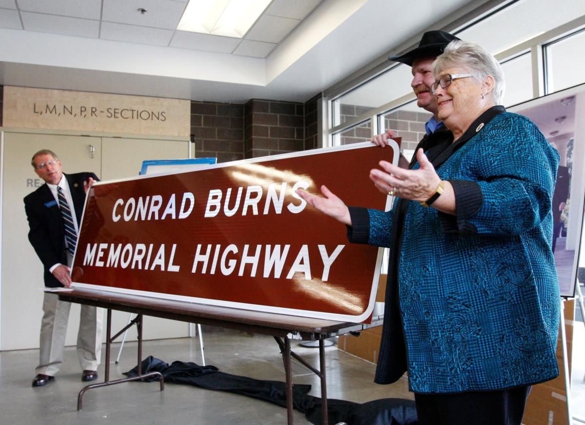 Conrad Burns Memorial Highway
