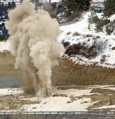 Feature photo: Big blast