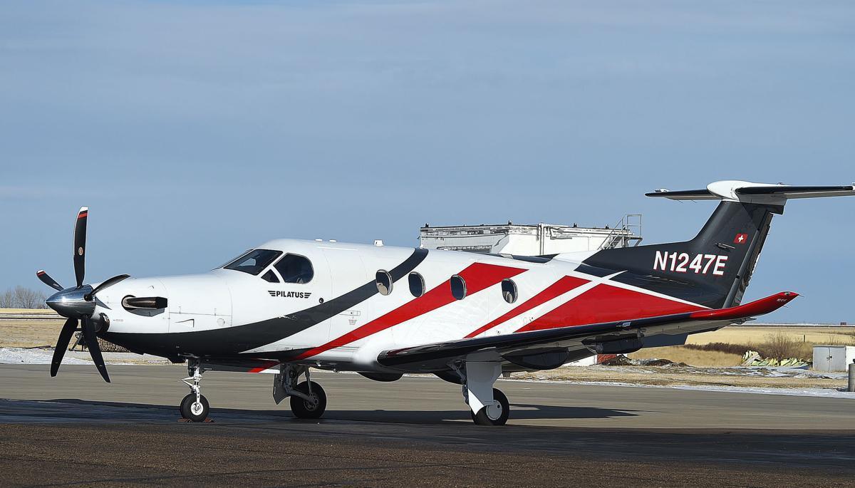 Gianforte airplane