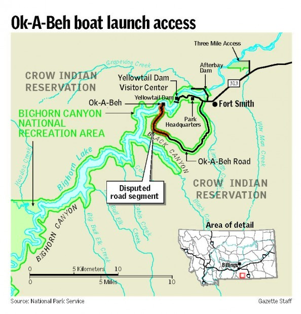 Ok-A-Beh boat access dispute