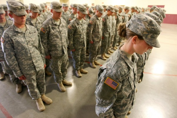 family  friends gather as montana army national guard unit