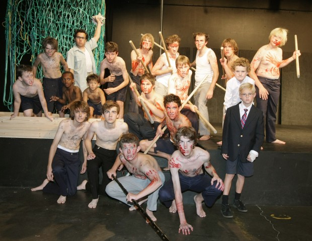 """Lord of the Flies"" - male cast"