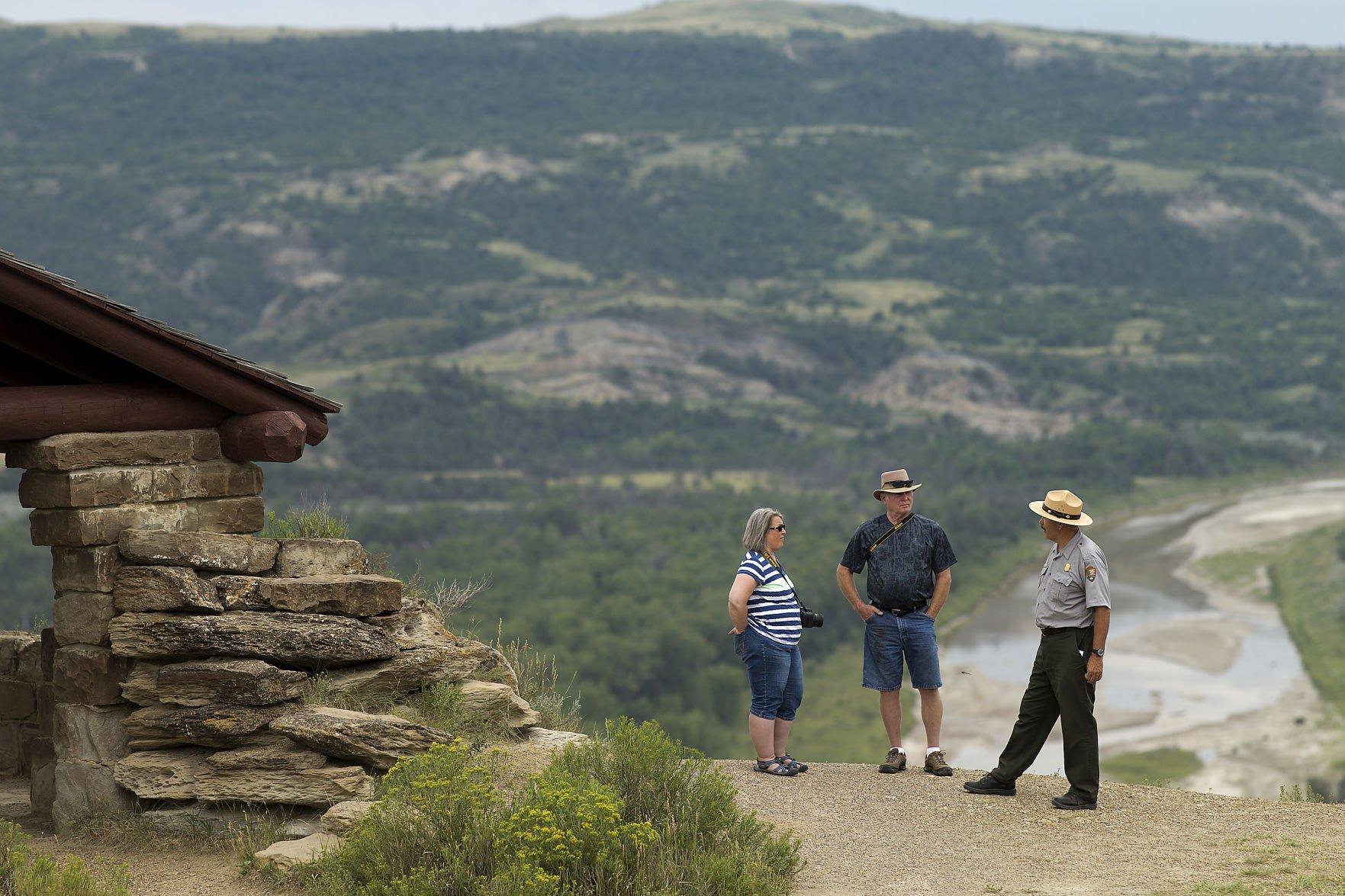 More visitors discovering splendor of national parks North Unit