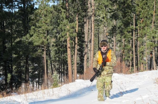 Helping fight hunter