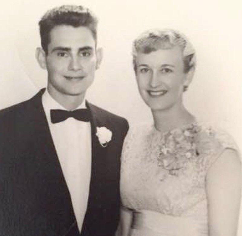 Clarence and Doris Schraer in 1956