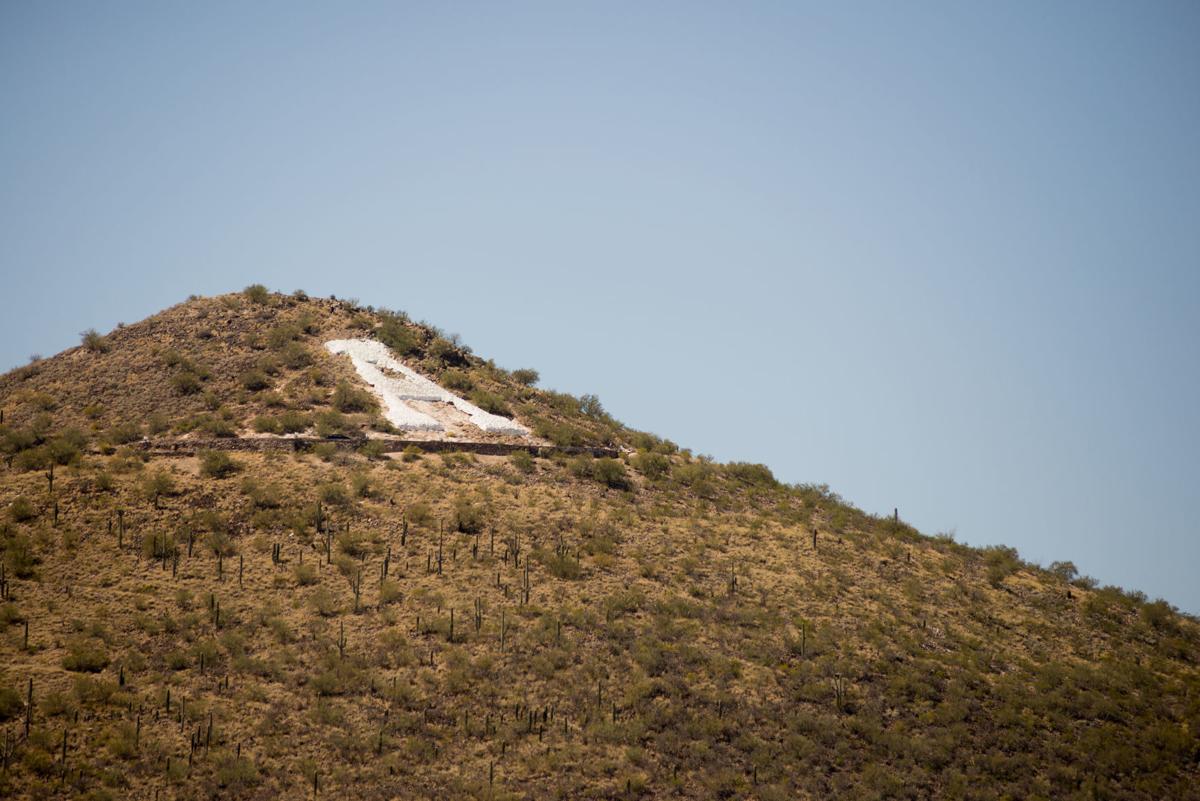 University of Arizona's hillside letter